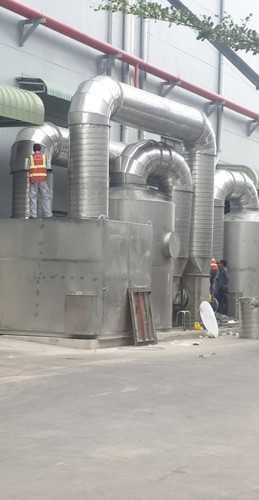 lắp đặt thiết bị xử lý khí thải